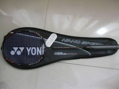 New Nano Speed 9900 badminton racket Carbon Bow arrow NS 9900 Badminton Racket