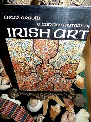Irish Art Bruce Arnold A concise History Of Hardcover Jacket Illustrated 1968