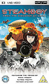 STEAMBOY (PG) 2004   Sony PSP UMD Anime Movie