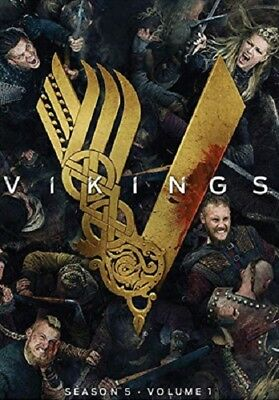 New & Sealed! TV Vikings DVD Season 5 (Volume 1)