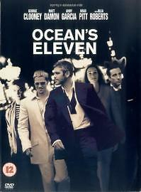 Ocean's Eleven (DVD, 2001) As New & Sealed Brad Pitt, Don Cheadle George Clooney