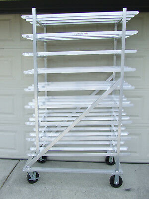 New Age -NSF-Mobile -Restaurant- Can Storage Rack (216) #10 Capacity-CLEAN-LOCAL