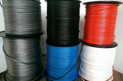 2.8mm/3.3mm/ 3mm/4mm/5mm/6mm Dyneema.12 & 16 strand Control line/rope