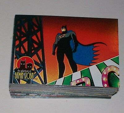 SET: DC Batman & Robin Adventures Of Animated 1-90 1995