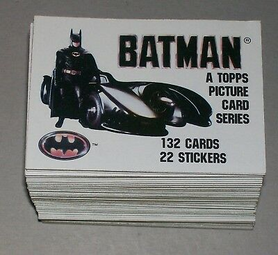 SET: DC Batman 1989 Series 1 1   - 132