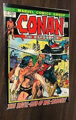 CONAN THE BARBARIAN #17 -- August 1972 -- Barry Smith -- F+ Or Better