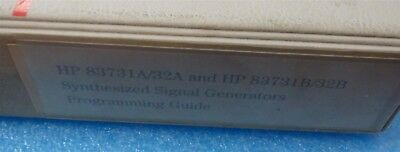 Agilent HP 83731A 83732A Programming Guide # 83731-90129