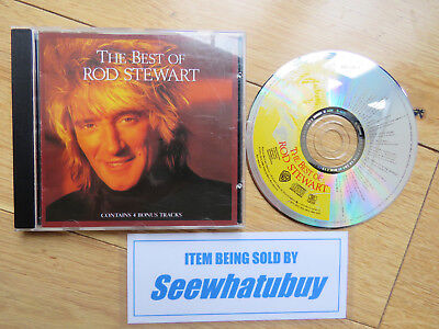 ROD STEWART - BEST OF CD ~ MAGGIE MAY~SAILING ++ 70's / 80's GREATEST HITS