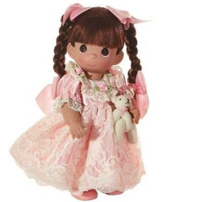 Precious Moments 12 Inch Doll, Spice, Brunette Hair, New w/Tag in PM Box, 6633