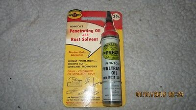 Vintage Nos Pennzoil Oil Can (14)