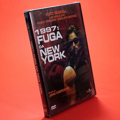1997 FUGA DA NEW YORK DVD JOHN CARPENTER Kurt Russel Lee Van Cleef Ernest Borgni