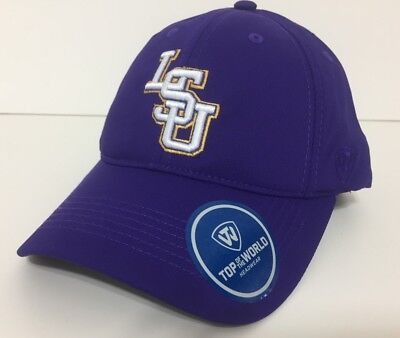 timeless design 3f2a7 0dde2 LSU Tigers Hat Adjustable Snap Back Cap Color Purple By Top Of The World