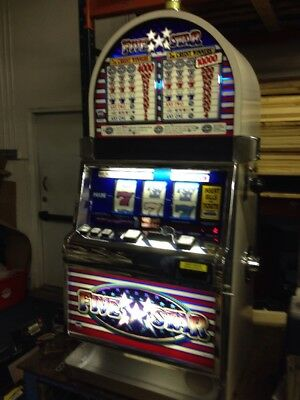 IGT S2000 Five Star Coin SLOT MACHINE