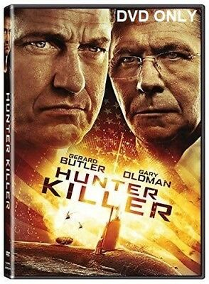 Hunter Killer (2018) DVD ONLY *** The disc has never been watched ***