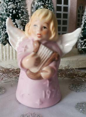 Vintage 1978 3rd Edition Goebel Angel Bell  Annual Christmas Tree Ornament