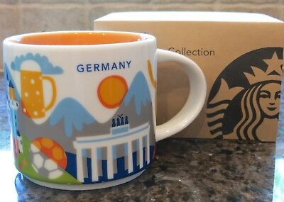 NWT Starbucks GERMANY You Are Here YAH Collector Series Mug with SKU
