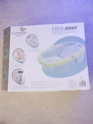 Summer infant newborn to Toddler away baby bath