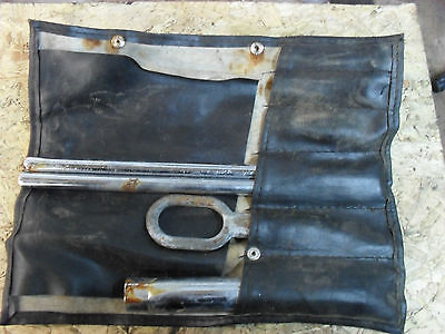Porsche 944 Tool Kit Roll Genuine & Original 924 928 968