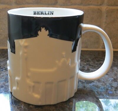 NWT Starbucks BERLIN Germany Relief City Collector Series Mug NEW with SKU