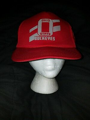 42200519645 Ohio State Buckeyes Snapback Vintage Mens Hat Cap Truckers One Size Fits All