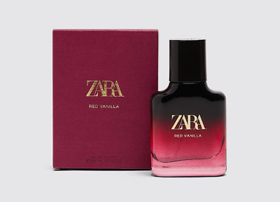 Zara Woman Red Vanilla Eau De Toilette Fragrance Perfume 30Ml/New & Sealed