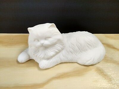 ceramic bisque ready to paint Alberta Laying Kitty #A-82