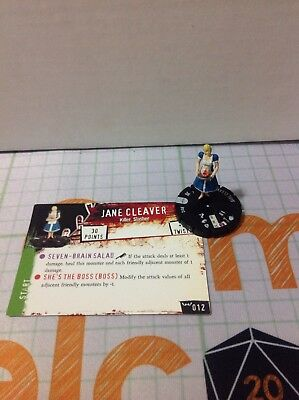 Horrorclix Nightmares Set Jane Cleaver #012