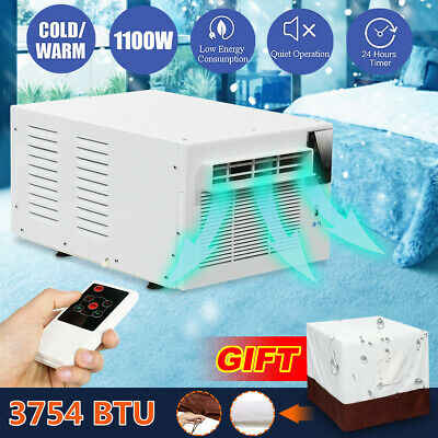 600W Protable Window Wall Box Refrigerated Air Conditioner Cooler Warmer Timing