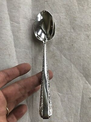 """Towle Candlelight Sterling Silver Shell Sugar Spoon 5 7/8"""" Not Monogrammed"""