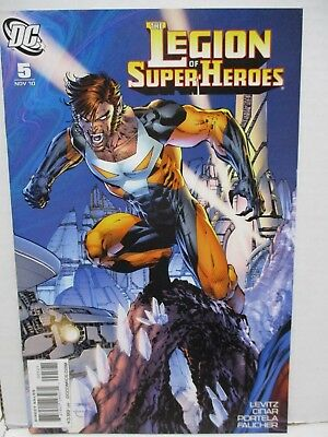 2010 DC- Legion of Super Heroes #3, 4, 5 - All Jim Lee Variant Covers