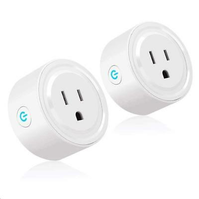 Tonbux Smart Plug 2 Pack WiFi Enabled Mini Switch Compatible with Amazon...