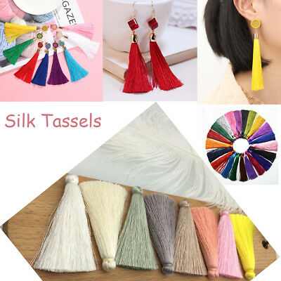 Fringe Garment Hanging Earring Accessories Jewelry Crafts Silk Tassels Sewing