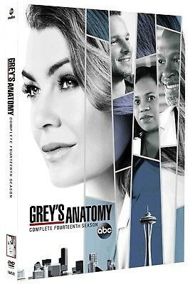 Grey's Anatomy: The Complete Fourteenth Season 14 (Brand New, DVD, 5-Disc Set)