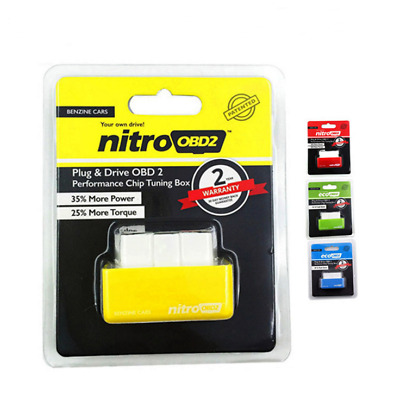 NITRO OBD2 ECU Chip Tuning Box Interface Plug And Drive For Diesel/Benzine Cars