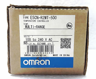 OMRON Temperature Controller E5CN-R2MT-500 100-240V NEW IN BOX