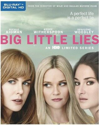 Big Little Lies: Season 1 (First Season) (3 Disc) BLU-RAY NEW