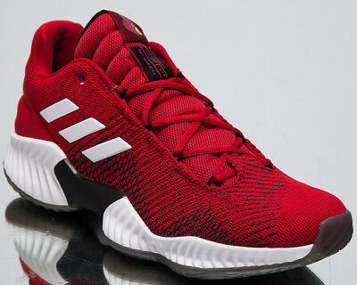 adidas Pro Bounce 2018 Low Top New Men s Basketball Shoes Power Red Black  B41868 c412217eb43