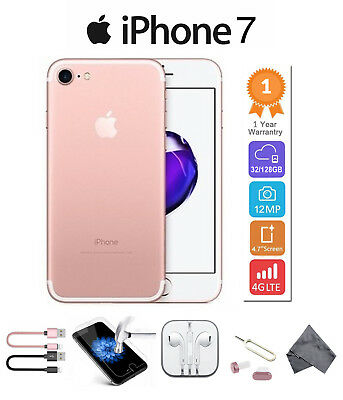 Apple iPhone 7 32GB 128GB 256GB All Colors Unlocked to All Network Smartphone