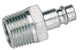 Draper 54417 Bulk 1/2 BSP Male Nut PCL Euro Coupling Adaptor (Sold Loose)