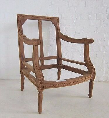 Louis XVI Armchair/Tub Chair - living room/bedroom chair/French antique style
