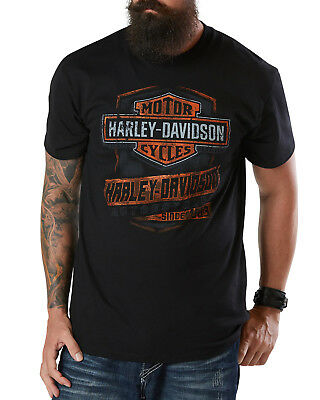 Harley-Davidson Fanatics HD Strong T-Shirt Gr. 4XL - Schwarz
