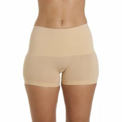 Camille Womens Ladies Underwear Beige Seamfree Shapewear Comfort Control Shorts