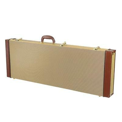 Electric Guitar Hard Case Bag Rectangular with Lock for Strat Tele Soloist Guita