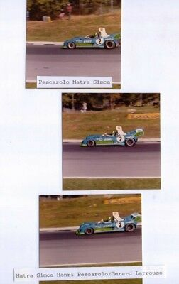 3 1974 Photos of the Pescarolo & Larrousse Matra Simca at Brands Hatch 1000km