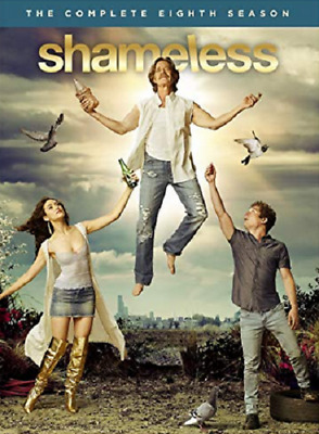 New & Sealed! TV Shameless Complete Season 8 DVD