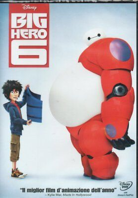 Dvd Big Hero 6 Disney