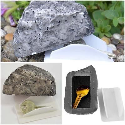 WO_ GN- LK_ Hide A Key Realistic Rock Safe Diversion Outdoor Hider Real Stone Lo