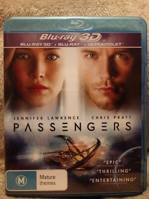Passengers Blu Ray 3D +2D   Brand New/unsealed Region Free Cheapest On Ebay