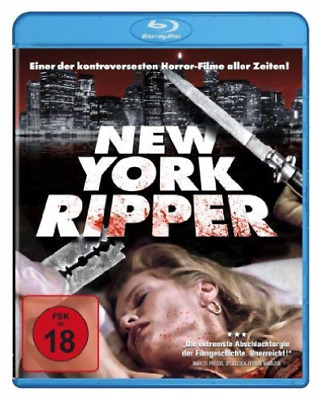 New York Ripper - (German Import) Blu-Ray Nuevo