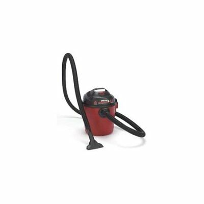 4 Gallon Shop Vac 2.0 Peak HP Wet Dry Vac Fast Free Shipping Black Red